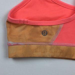 5ef2c01d67c96 lululemon athletica Intimates   Sleepwear - Lululemon 4 Flow Y Bra Bleacher  Stripe Iris Flower